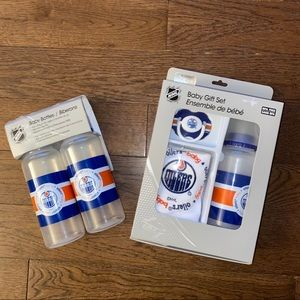 *NEW* Oilers Baby Set